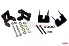 Lower Control Arm Skidplate Kit : 07-17 Jeep Wrangler JK
