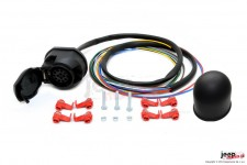 Electric harnesses for towing hook, dedicated, 13-PIN : Jeep Cherokee XJ/KJ
