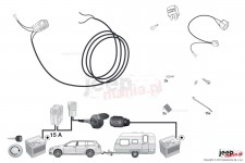 Supplementary Harness kit for power supply charging line