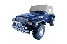 Cab Cover, Gray : 92-06 Jeep Wrangler YJ/TJ