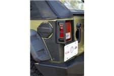 XHD Quarter Panel Guard Kit, Rear : 07-18 Jeep Wrangler JKU, 4 Door