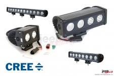 Panel LED serii SR10C : diody Cree 10W, od 20W do 120W, HOMOLOGACJA ECE R10
