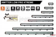 XMITTER LOW PRO XTREME : xtreme output in a compact light bar