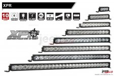 XPR serie LED light bar : IRIS REFLECTORS FOR ULTIMATE DISTANCE