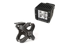 X-Clamp and Square LED Light Kit, Small, Textured Black, 1 Piece