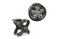 X-Clamp and Round LED Light Kit, Large, Textured Black, 1 Piece