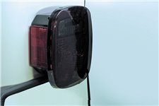 Light Cover Set, Tail Light, Smoke : 76-06 Jeep CJ5/CJ7/CJ8/Wrangler