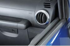 AC Vent Trim Rings, Chrome : 07-10 Jeep Wrangler JK