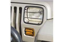 Euro Guard Kit, Headlight and Turn Signal : 87-95 Jeep Wrangler YJ