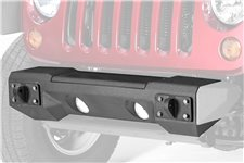 All Terrain Front Steel Bumper and Winch Plate 07-17 Wrangler JK
